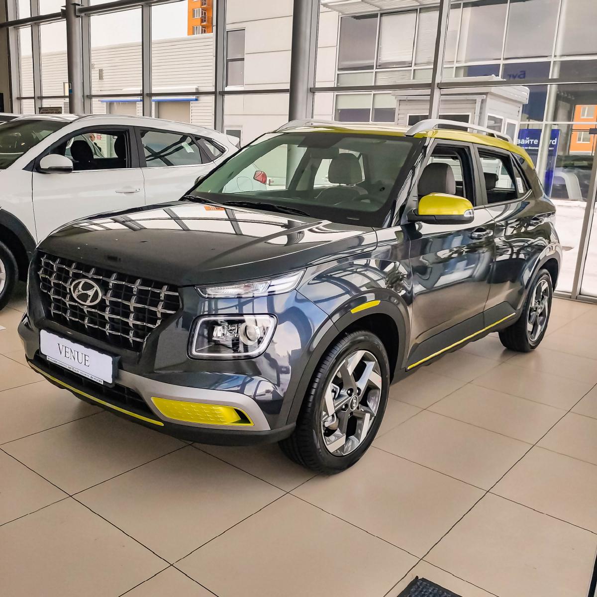 Абсолютно новий компактний міський кросовер Hyundai Venue | Хюндай Мотор Україна - фото 17